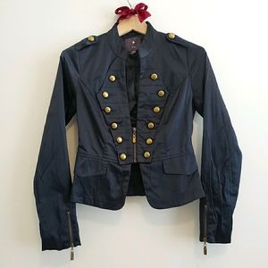 Midnight Blue Military Style Drummer Style Jacket